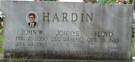 HARDIN, JOHN W - Tishomingo County, Mississippi | JOHN W HARDIN - Mississippi Gravestone Photos