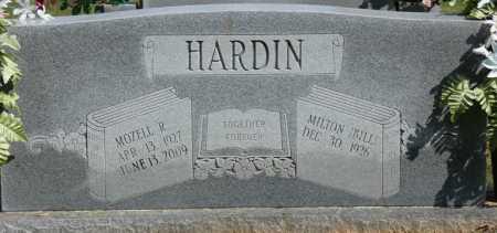 "HARDIN, WILLIAM MILTON ""BILL"" - Tishomingo County, Mississippi | WILLIAM MILTON ""BILL"" HARDIN - Mississippi Gravestone Photos"