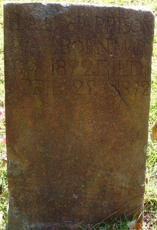 HARRISON, B.A. - Tishomingo County, Mississippi | B.A. HARRISON - Mississippi Gravestone Photos
