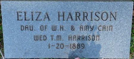 HARRISON, ELIZA - Tishomingo County, Mississippi   ELIZA HARRISON - Mississippi Gravestone Photos