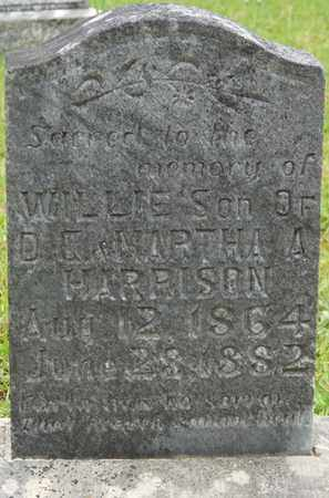 HARRISON, WILLIE - Tishomingo County, Mississippi | WILLIE HARRISON - Mississippi Gravestone Photos