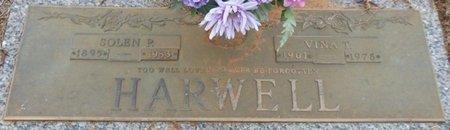 "HARWELL, FRANKIE MELVINA ""VINA"" - Tishomingo County, Mississippi | FRANKIE MELVINA ""VINA"" HARWELL - Mississippi Gravestone Photos"