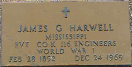 HARWELL (VETERAN WWI), JAMES G - Tishomingo County, Mississippi | JAMES G HARWELL (VETERAN WWI) - Mississippi Gravestone Photos