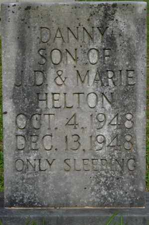 HELTON, DANNY - Tishomingo County, Mississippi | DANNY HELTON - Mississippi Gravestone Photos