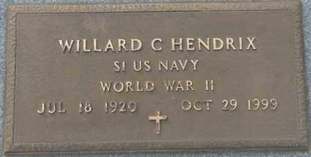 HENDRIX (VETERAN WWII), WILLARD C - Tishomingo County, Mississippi   WILLARD C HENDRIX (VETERAN WWII) - Mississippi Gravestone Photos