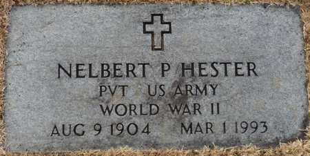 HESTER (VETERAN WWII), NELBERT P - Tishomingo County, Mississippi   NELBERT P HESTER (VETERAN WWII) - Mississippi Gravestone Photos