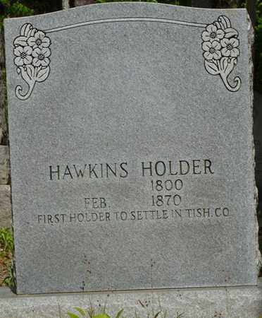 HOLDER, HAWKINS - Tishomingo County, Mississippi | HAWKINS HOLDER - Mississippi Gravestone Photos