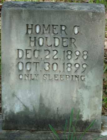HOLDER, HOMER C - Tishomingo County, Mississippi | HOMER C HOLDER - Mississippi Gravestone Photos