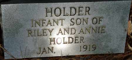 HOLDER, INFANT SON - Tishomingo County, Mississippi | INFANT SON HOLDER - Mississippi Gravestone Photos
