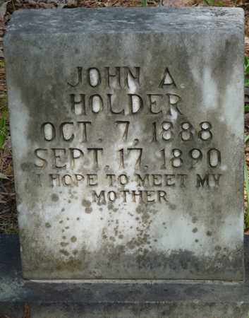 HOLDER, JOHN A - Tishomingo County, Mississippi | JOHN A HOLDER - Mississippi Gravestone Photos
