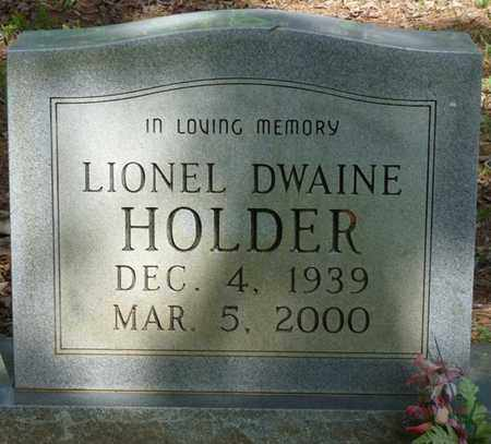 HOLDER, LIONEL DWAINE - Tishomingo County, Mississippi | LIONEL DWAINE HOLDER - Mississippi Gravestone Photos