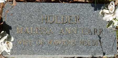 HOLDER, MALISSA ANN - Tishomingo County, Mississippi | MALISSA ANN HOLDER - Mississippi Gravestone Photos