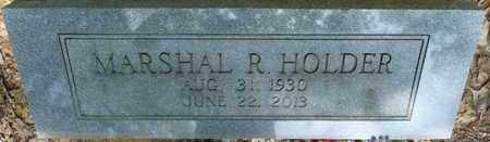 HOLDER, MARSHAL R - Tishomingo County, Mississippi | MARSHAL R HOLDER - Mississippi Gravestone Photos