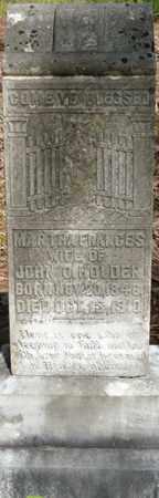 HOLDER, MARTHA FRANCES - Tishomingo County, Mississippi   MARTHA FRANCES HOLDER - Mississippi Gravestone Photos