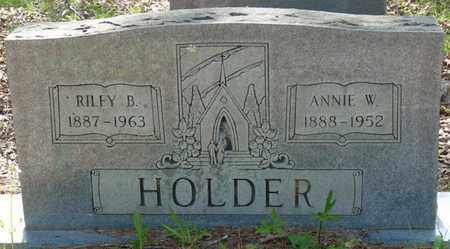 HOLDER, RILEY B - Tishomingo County, Mississippi | RILEY B HOLDER - Mississippi Gravestone Photos
