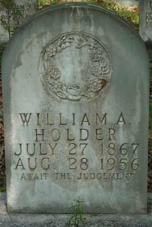 HOLDER, WILLIAM A - Tishomingo County, Mississippi | WILLIAM A HOLDER - Mississippi Gravestone Photos