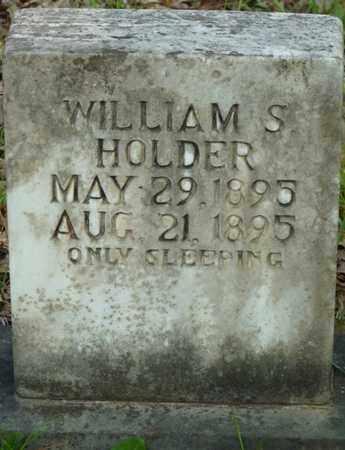 HOLDER, WILLIAM S - Tishomingo County, Mississippi | WILLIAM S HOLDER - Mississippi Gravestone Photos