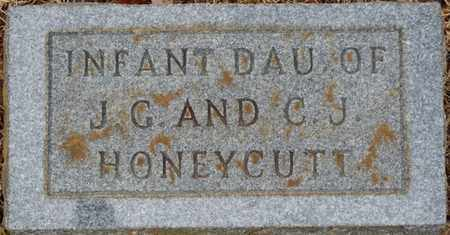 HONEYCUTT, INFANT DAUGHTER - Tishomingo County, Mississippi | INFANT DAUGHTER HONEYCUTT - Mississippi Gravestone Photos