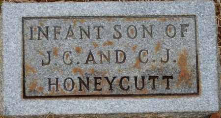HONEYCUTT, INFANT SON - Tishomingo County, Mississippi | INFANT SON HONEYCUTT - Mississippi Gravestone Photos