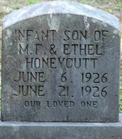 HONEYCUTT, INFANT SON - Tishomingo County, Mississippi   INFANT SON HONEYCUTT - Mississippi Gravestone Photos