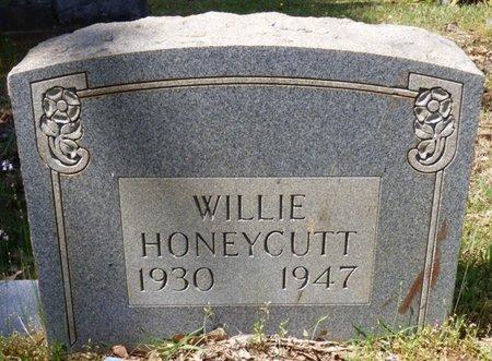 HONEYCUTT, WILLIE - Tishomingo County, Mississippi | WILLIE HONEYCUTT - Mississippi Gravestone Photos