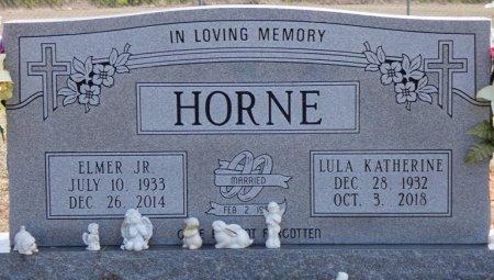 FULTON HORNE, LULA KATHERINE - Tishomingo County, Mississippi | LULA KATHERINE FULTON HORNE - Mississippi Gravestone Photos