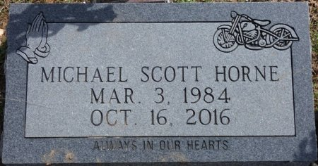 HORNE, MICHAEL SCOTT - Tishomingo County, Mississippi   MICHAEL SCOTT HORNE - Mississippi Gravestone Photos