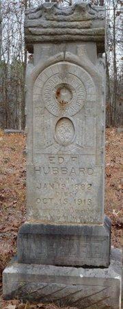 "HUBBARD, EDGAR F ""ED"" - Tishomingo County, Mississippi | EDGAR F ""ED"" HUBBARD - Mississippi Gravestone Photos"
