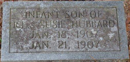 HUBBARD, INFANT SON - Tishomingo County, Mississippi | INFANT SON HUBBARD - Mississippi Gravestone Photos