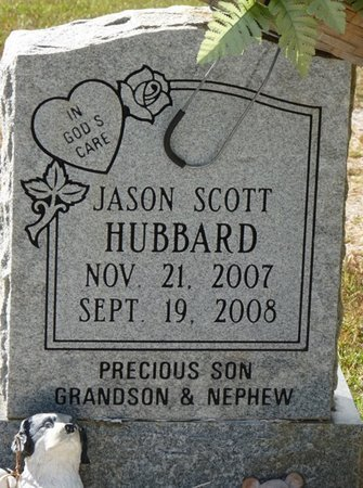 HUBBARD, JASON SCOTT - Tishomingo County, Mississippi | JASON SCOTT HUBBARD - Mississippi Gravestone Photos
