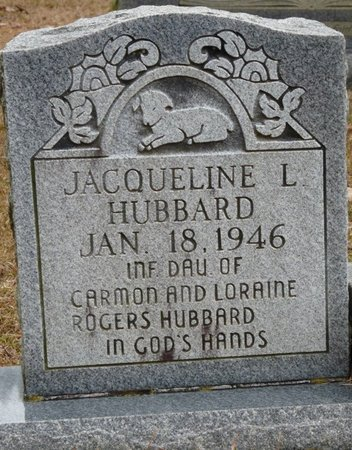 HUBBARD, JACQUELINE L - Tishomingo County, Mississippi | JACQUELINE L HUBBARD - Mississippi Gravestone Photos