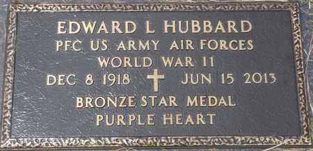 HUBBARD (VETERAN WWII), EDWARD L - Tishomingo County, Mississippi | EDWARD L HUBBARD (VETERAN WWII) - Mississippi Gravestone Photos