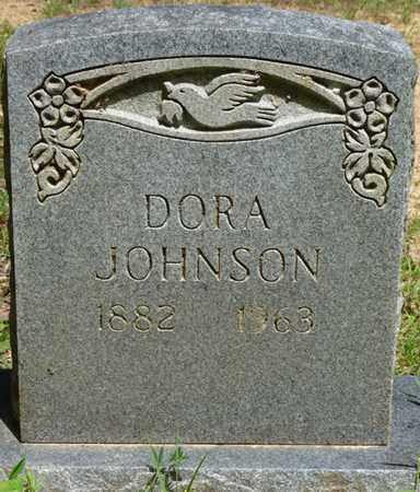 JOHNSON, DORA - Tishomingo County, Mississippi   DORA JOHNSON - Mississippi Gravestone Photos