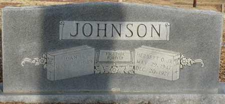 JOHNSON JR., HERBERT - Tishomingo County, Mississippi | HERBERT JOHNSON JR. - Mississippi Gravestone Photos