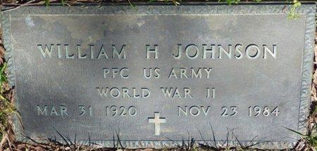 JOHNSON (VETERAN WWII), WILLIAM H - Tishomingo County, Mississippi | WILLIAM H JOHNSON (VETERAN WWII) - Mississippi Gravestone Photos