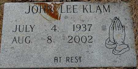 KLAM, JOHN LEE - Tishomingo County, Mississippi | JOHN LEE KLAM - Mississippi Gravestone Photos