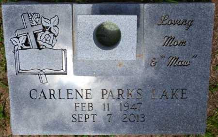 LAKE, CARLENE PARKS - Tishomingo County, Mississippi | CARLENE PARKS LAKE - Mississippi Gravestone Photos