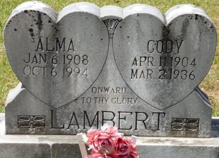 POWERS LAMBERT, ALMA - Tishomingo County, Mississippi | ALMA POWERS LAMBERT - Mississippi Gravestone Photos
