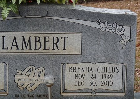 LAMBERT, BRENDA - Tishomingo County, Mississippi | BRENDA LAMBERT - Mississippi Gravestone Photos
