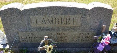 LAMBERT, SHERMAN - Tishomingo County, Mississippi | SHERMAN LAMBERT - Mississippi Gravestone Photos