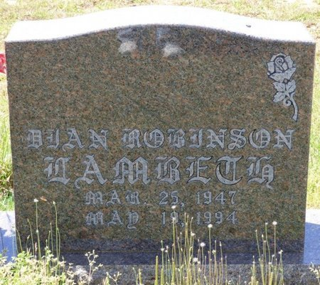 LAMBERT, DEAN ROBENSON - Tishomingo County, Mississippi | DEAN ROBENSON LAMBERT - Mississippi Gravestone Photos