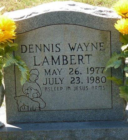 LAMBERT, DENNIS WAYNE - Tishomingo County, Mississippi | DENNIS WAYNE LAMBERT - Mississippi Gravestone Photos