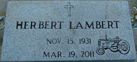 LAMBERT, HERBERT - Tishomingo County, Mississippi | HERBERT LAMBERT - Mississippi Gravestone Photos