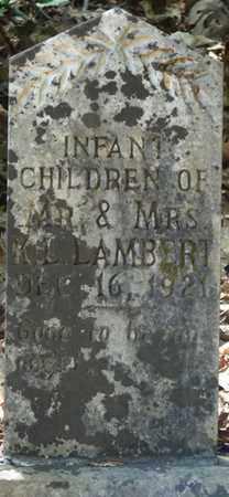 LAMBERT, INFANT CHILDREN - Tishomingo County, Mississippi | INFANT CHILDREN LAMBERT - Mississippi Gravestone Photos