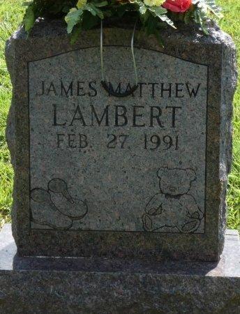LAMBERT, JAMES MATTHEW - Tishomingo County, Mississippi | JAMES MATTHEW LAMBERT - Mississippi Gravestone Photos