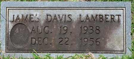 LAMBERT, JAMES DAVIS - Tishomingo County, Mississippi   JAMES DAVIS LAMBERT - Mississippi Gravestone Photos