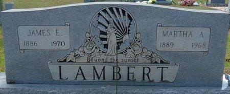 LAMBERT, MARTHA A - Tishomingo County, Mississippi | MARTHA A LAMBERT - Mississippi Gravestone Photos