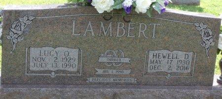 LAMBERT, HEWELL DEAN - Tishomingo County, Mississippi | HEWELL DEAN LAMBERT - Mississippi Gravestone Photos