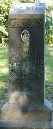 LAMBERT, LIZZIE - Tishomingo County, Mississippi | LIZZIE LAMBERT - Mississippi Gravestone Photos