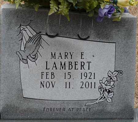 LAMBERT, MARY E - Tishomingo County, Mississippi | MARY E LAMBERT - Mississippi Gravestone Photos